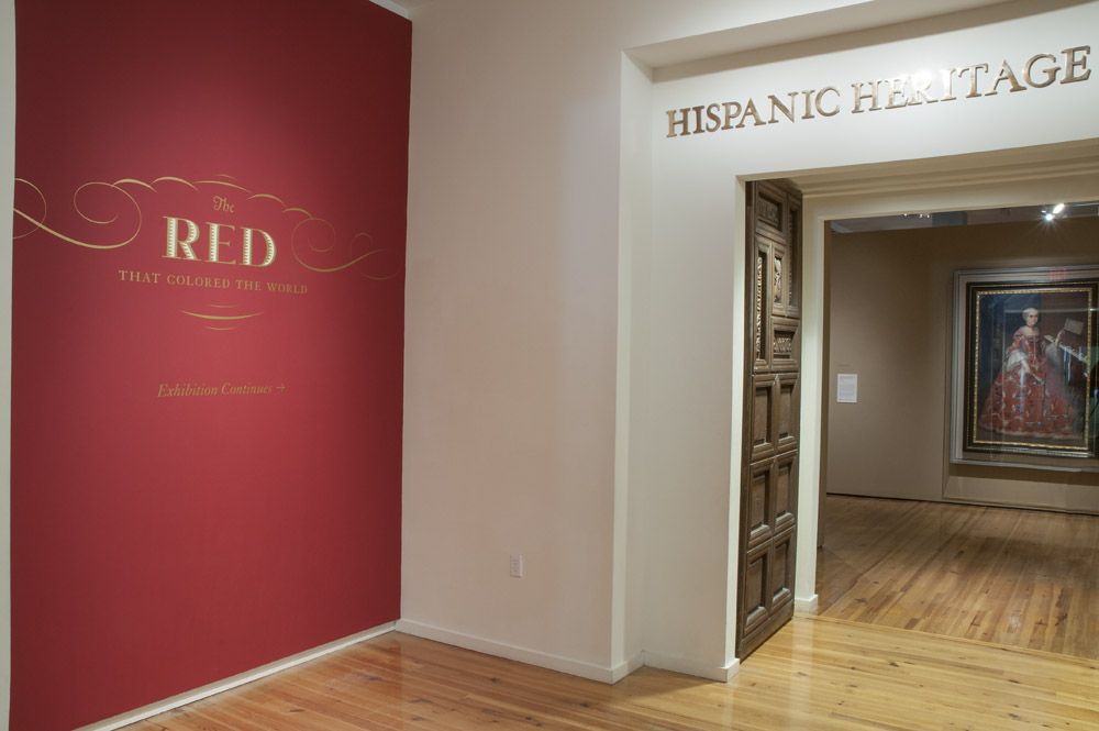 Exhibtion in the Hispanic Heritage Wing