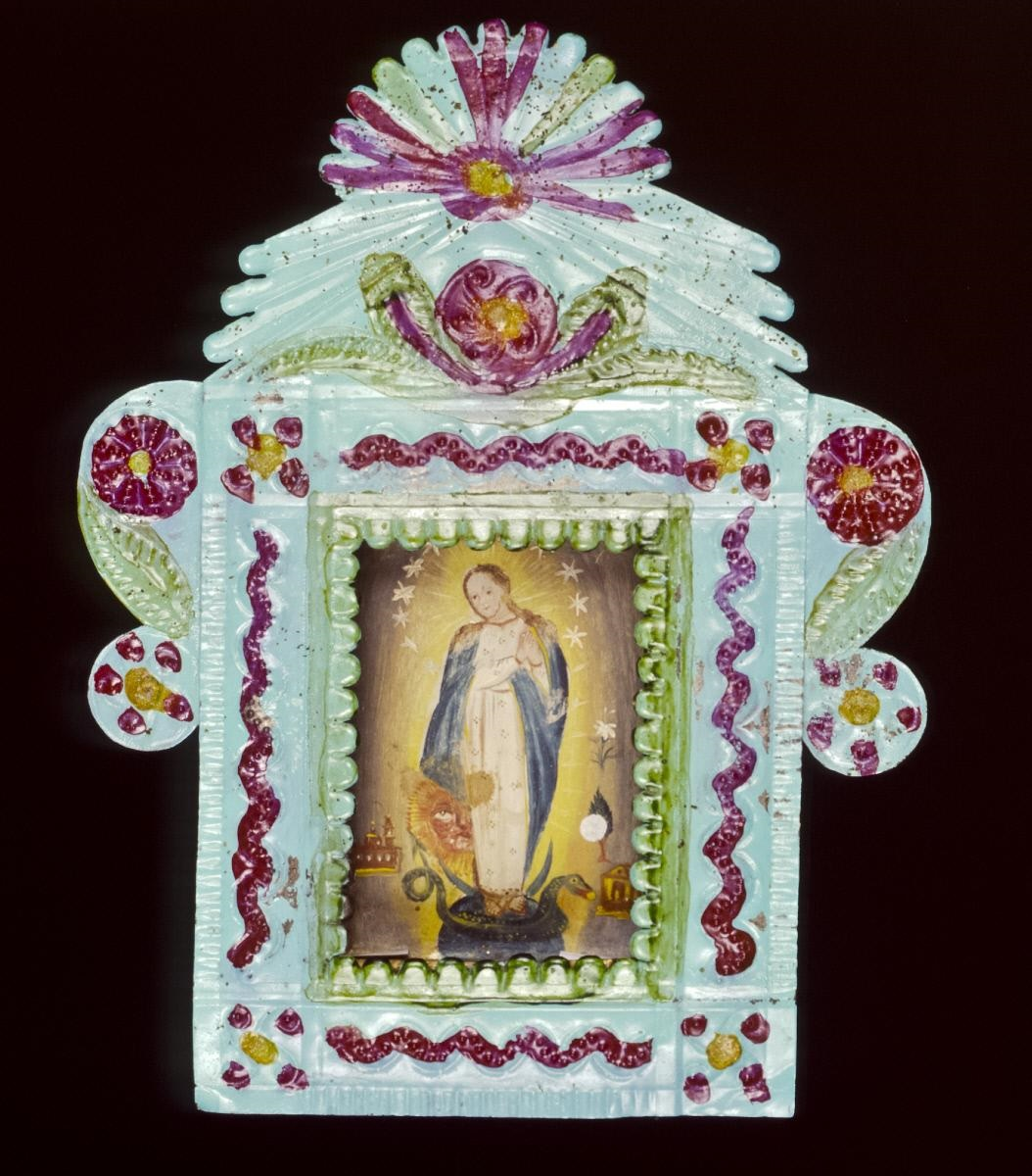Retablo, Mexico, ca. 1850. From the Girard Foundation Collection at the Museum of International Folk Art