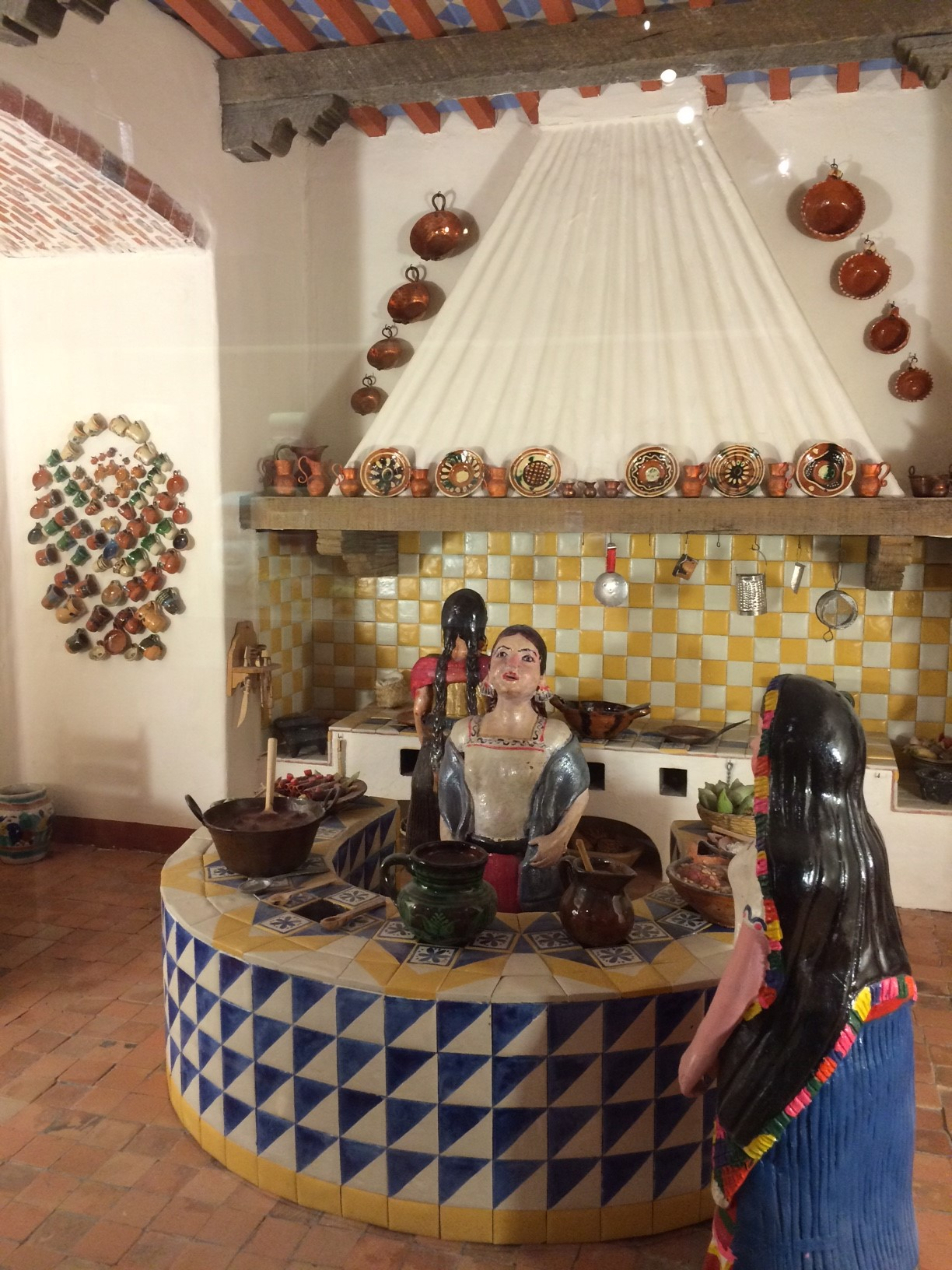 Mexican Kitchen in the Multiple Visions exhibition