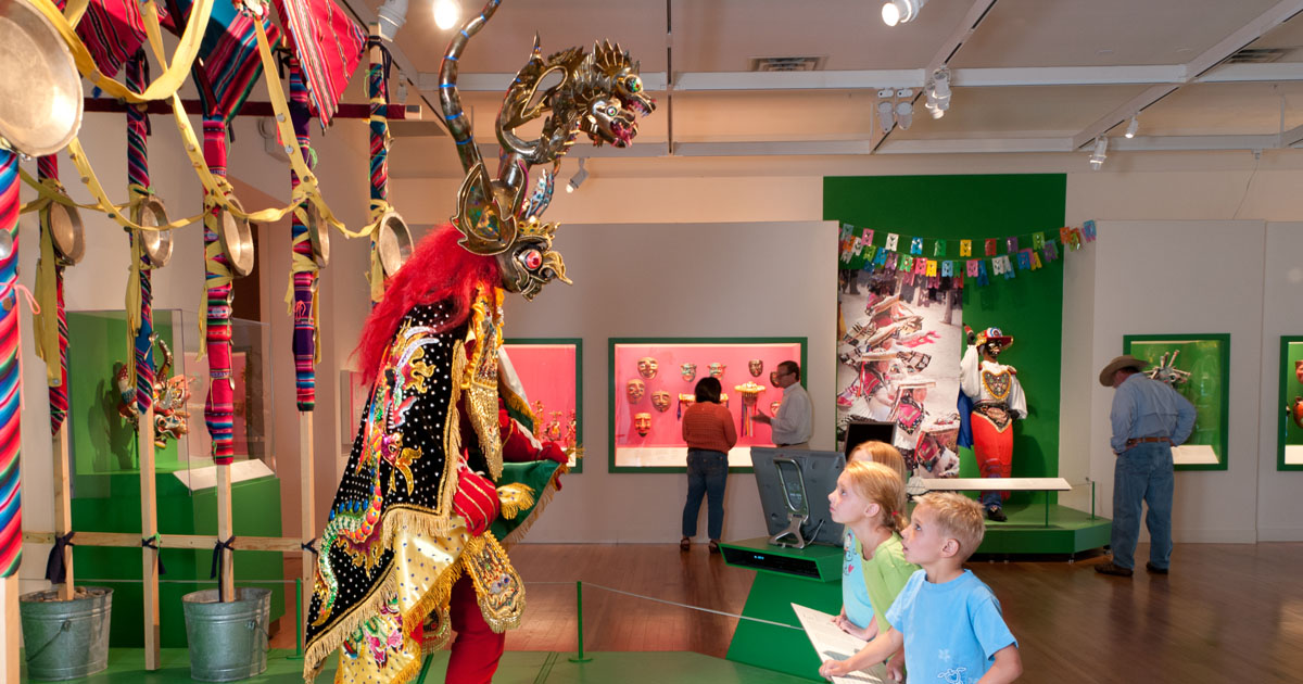 Museum of International Folk Art has tour guides like no other